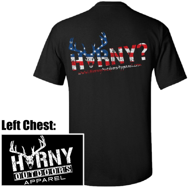HOA Horny Patriot Tee