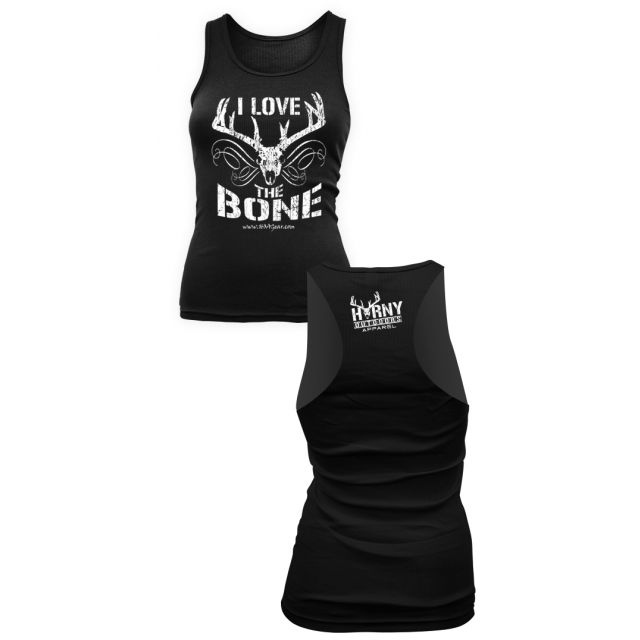 HOA Ladies Black Razorback Tank