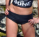 HOA Ladies Black Boyshorts