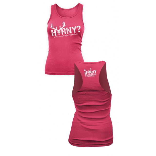HOA Ladies Raspberry Razorback Tank